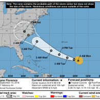 Hurricane Florence Poised to Deal Devastating Blow to Carolinas, East Coast as Possible Category 4 Storm