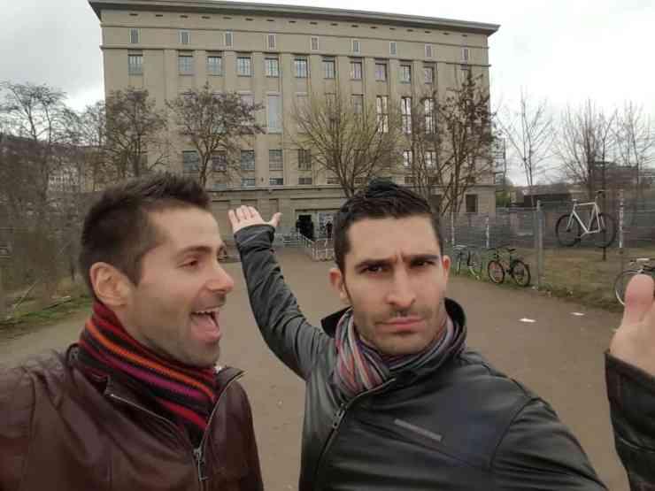 Berghain largest gay club in Berlin