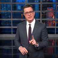 Stephen Colbert Had a Gassy Response for Trump's 'Horseface' Attack on Stormy Daniels: WATCH