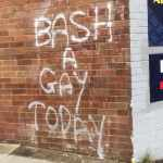 bash a gay today