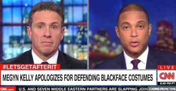 Don lemon blackface