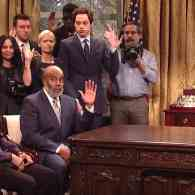 SNL Mocks Kanye West's 'Cuckoo' Visit to the Oval Office: WATCH