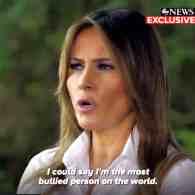 Melania Trump bullied