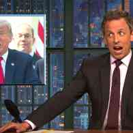 Seth Meyers Slams Trump for Demeaning Female Reporters: 'How Much More of a 'Sexist D**k Could You Possibly Be?' — WATCH