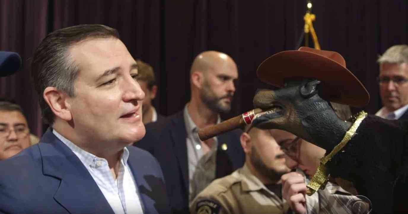 Ted Cruz Triumph Insult Comic dog