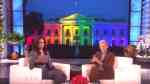 Michelle Obama Ellen snuck out of white hosue