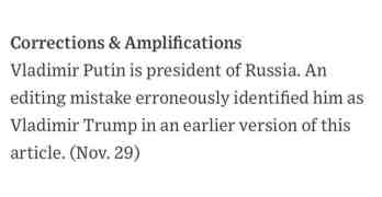 Vladimir Trump