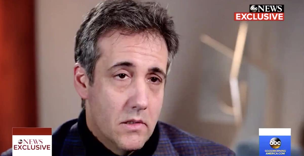 Michael Cohen's story may get the Hollywood treatment