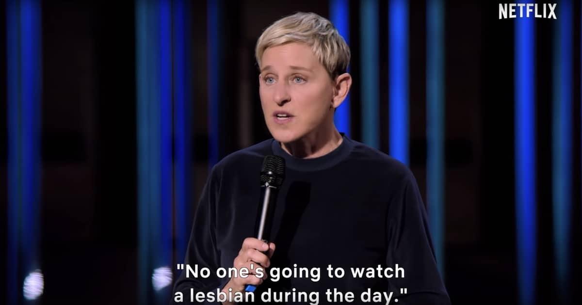 ellen DeGeneres stand-up