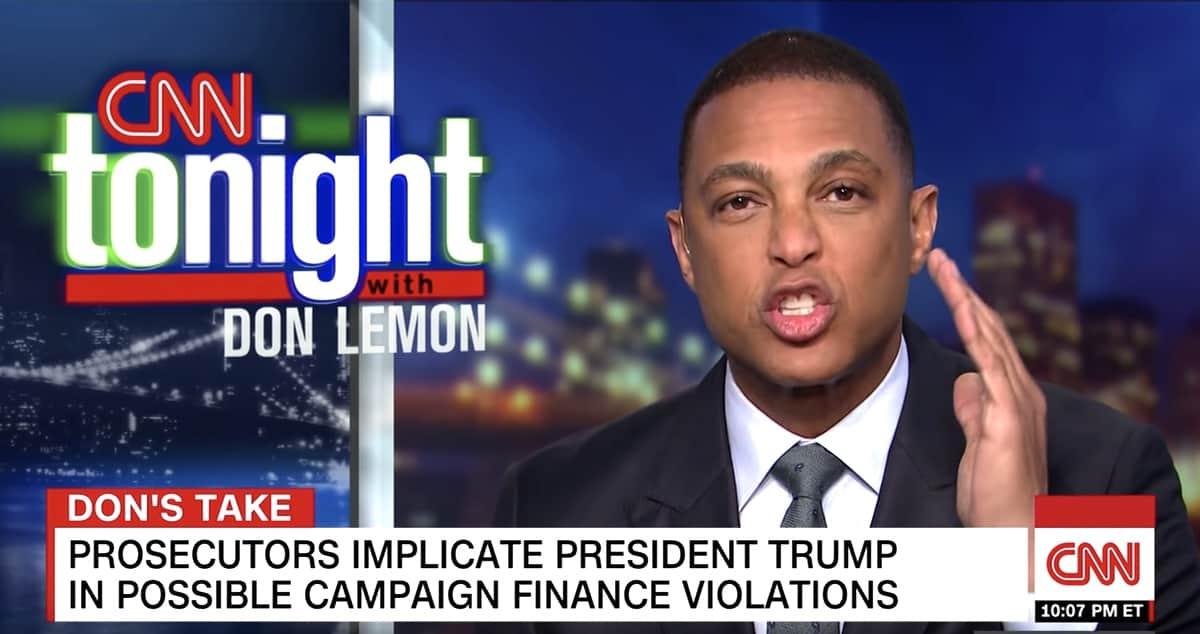 don lemon flat out lie