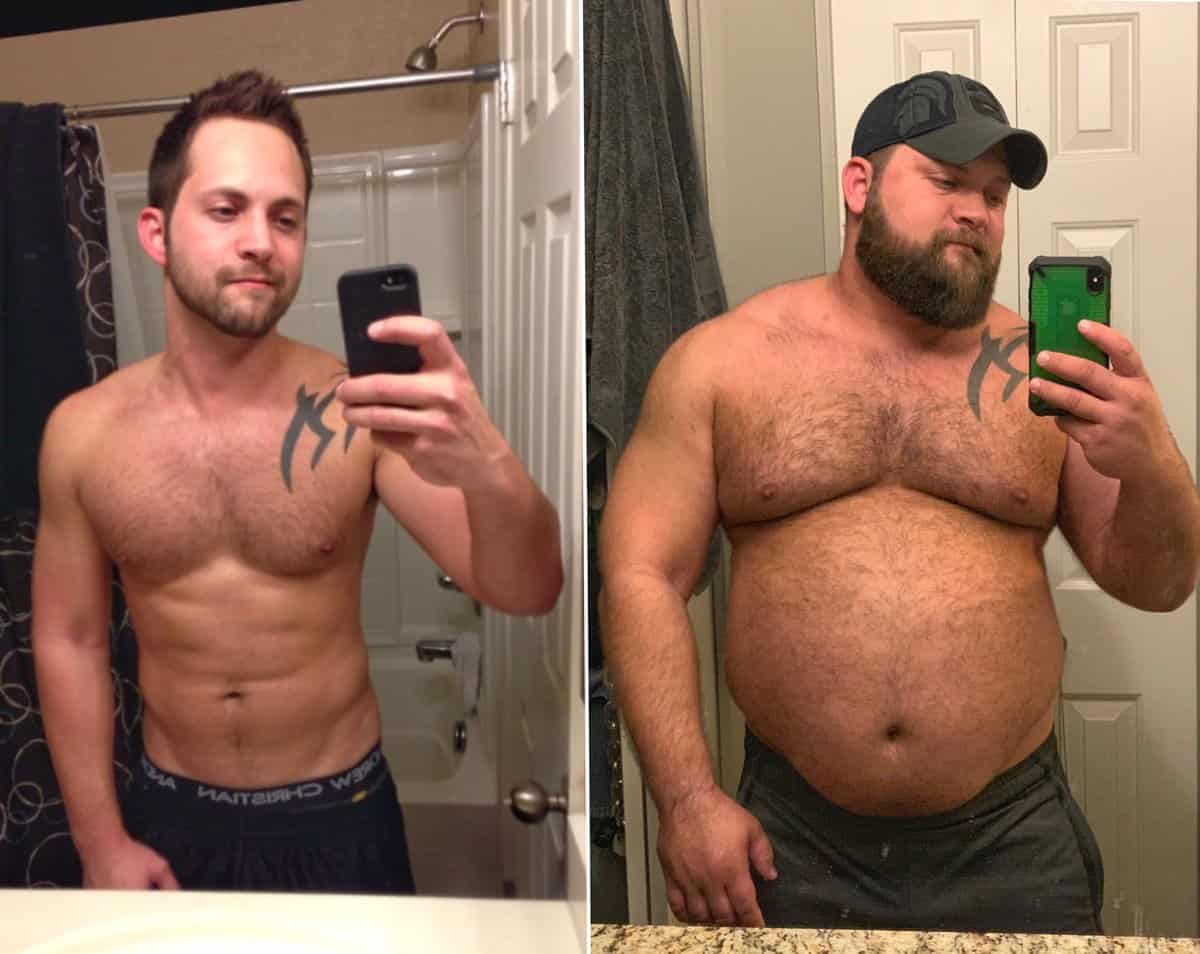 Bears Gays Videos gay man's 'twink to bear' body transformation goes viral