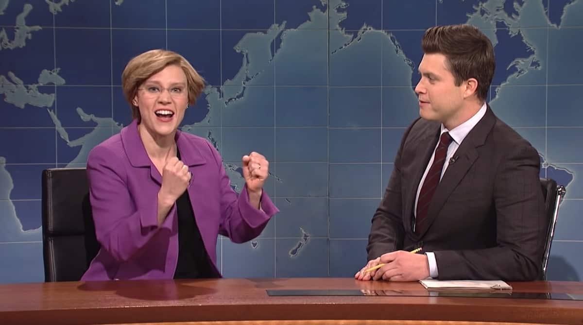 Elizabeth Warren Kate McKinnon SNL