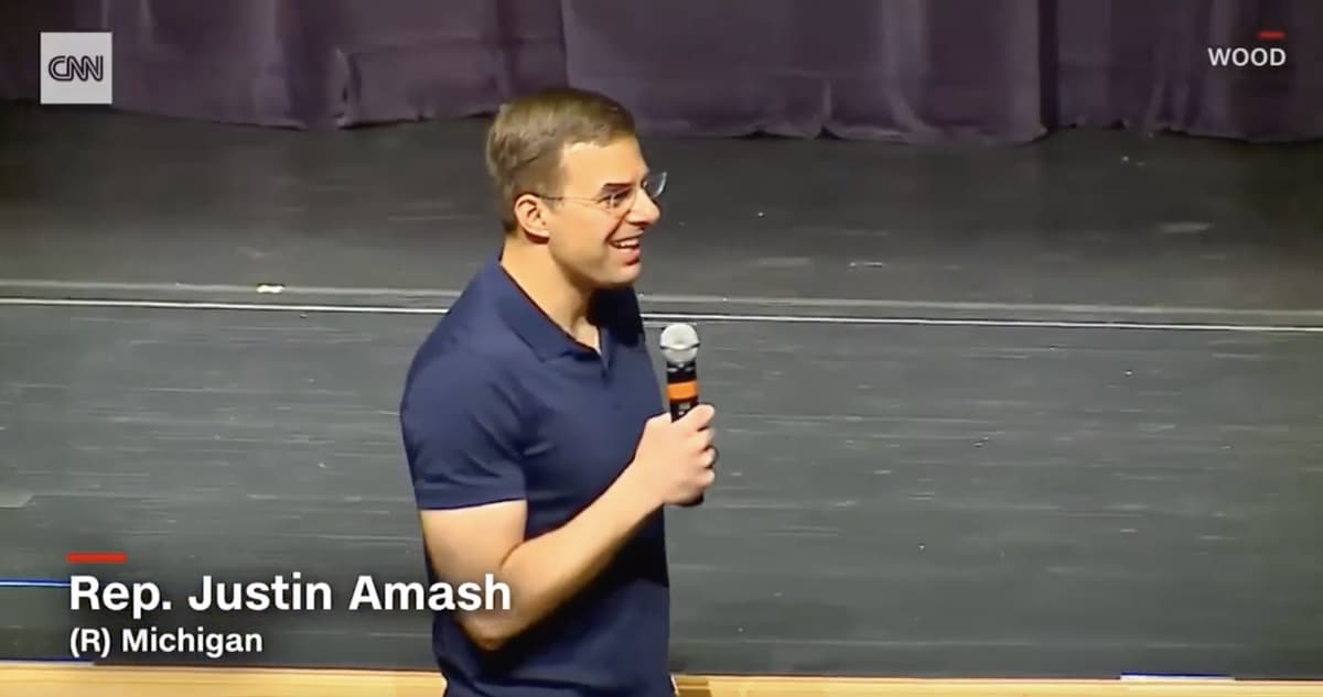 Justin Amash Tells Congress: 'The Ball Is in Our Court' on Impeachment