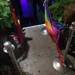 pride flags burned