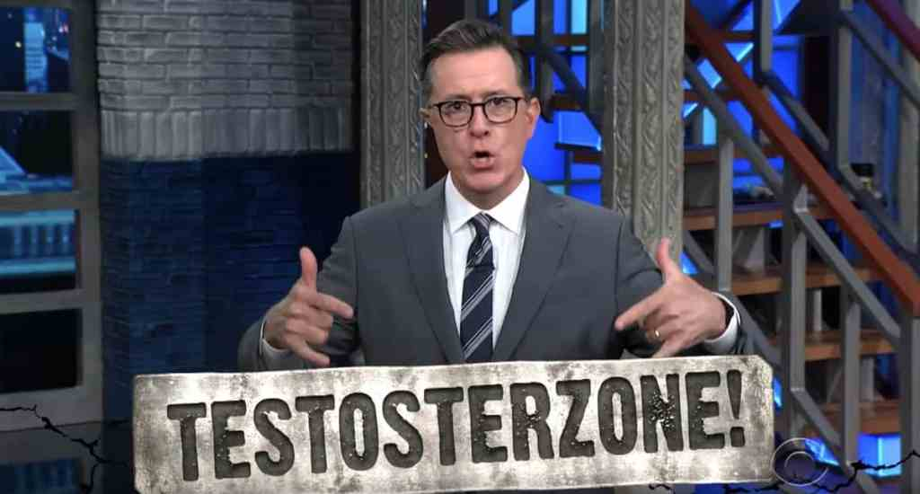 stephen colbert recycling gay