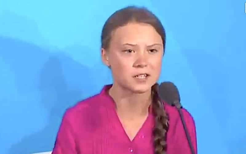 Greta Thunberg speech