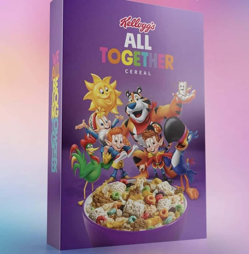 Kellogg Put Its Cereals 'All Together' To Celebrate LGBTQ