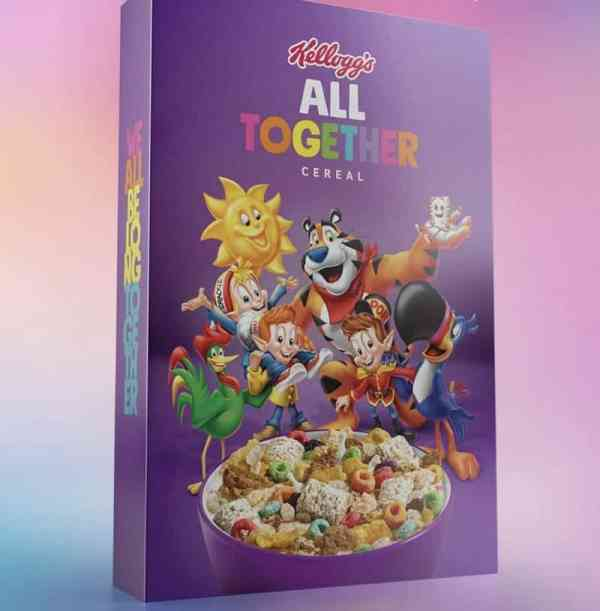 Kellogg Put its Cereals