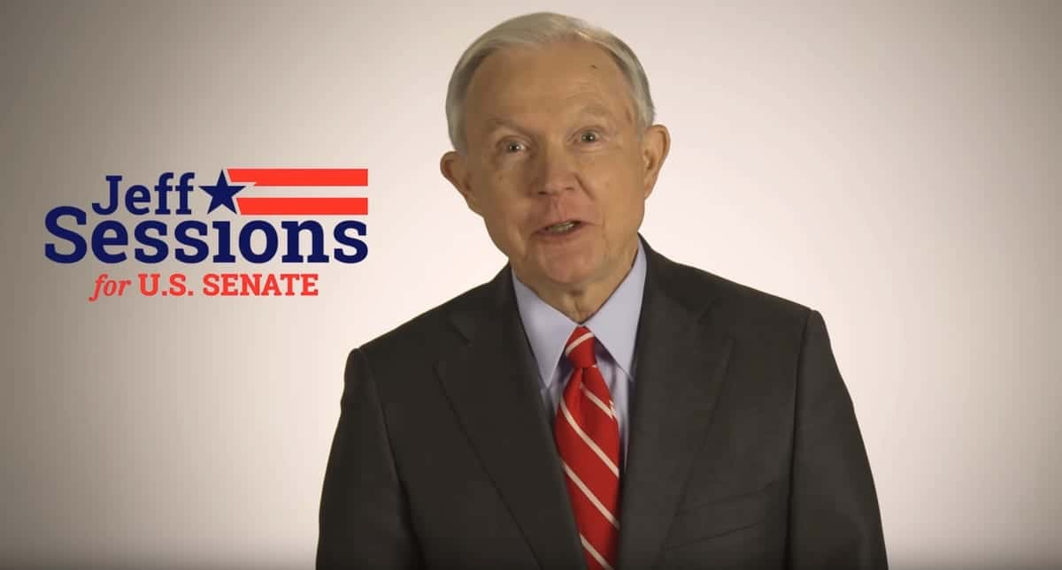 Jeff Sessions ad