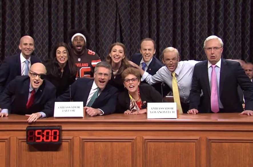 Jon Hamm Joins SNL for the Daytime Drama 'Days of Our Impeachment' — WATCH - Towleroad