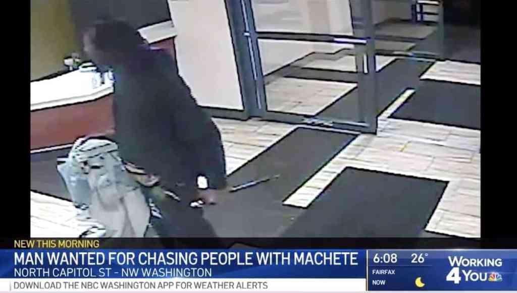 machete attack