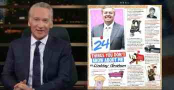 Bill Maher Lindsey Graham