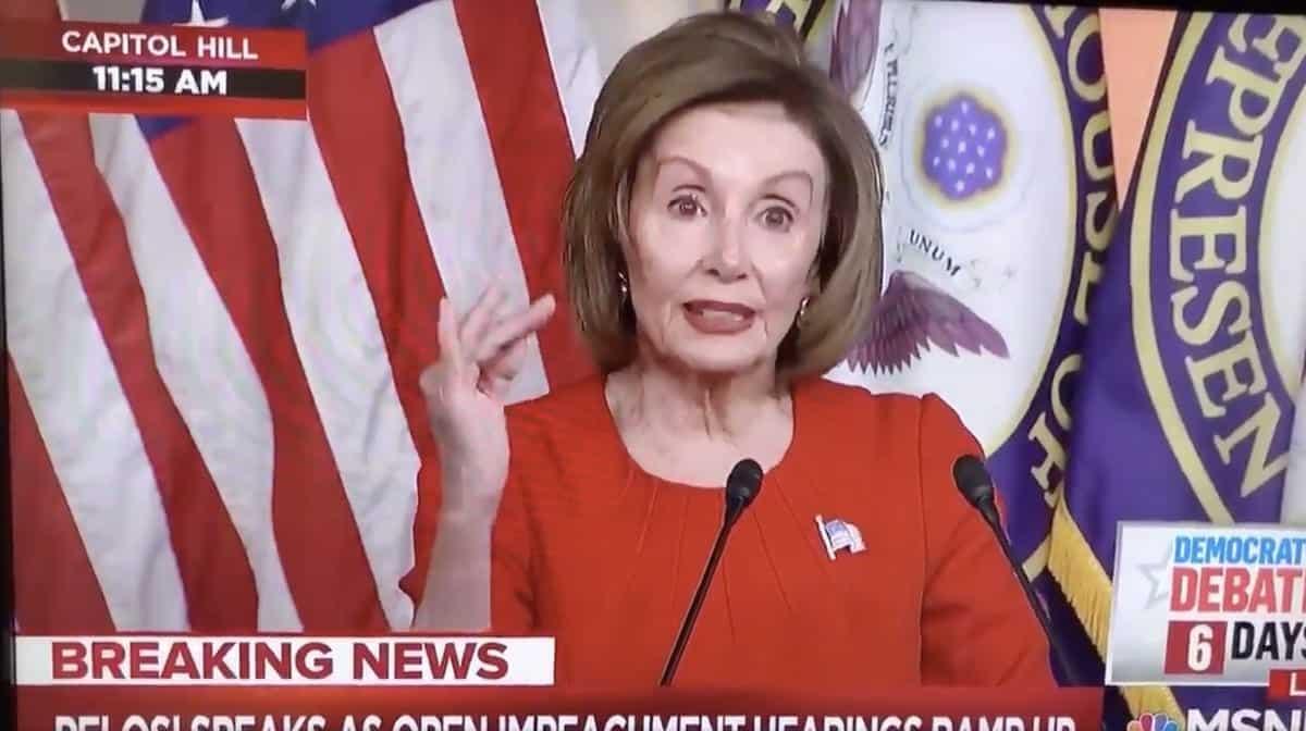 Nancy Pelosi bribery