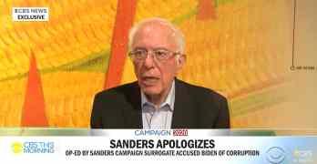 Bernie Sanders Joe Biden corrupt