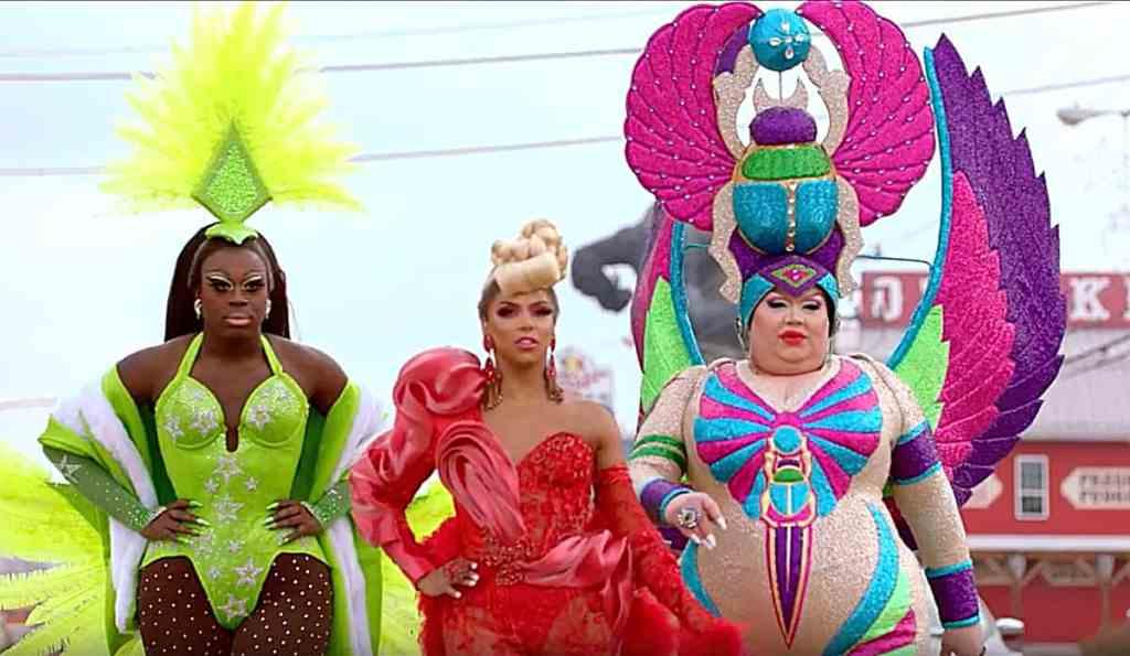 we're here drag queens