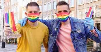 rainbow coronavirus masks