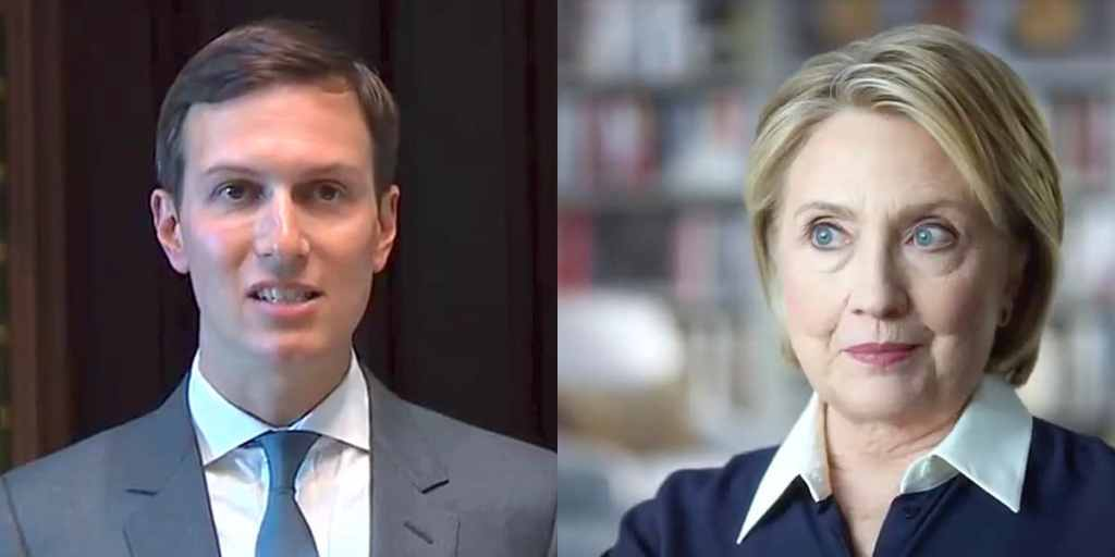 Jared Kushner Hillary Clinton election