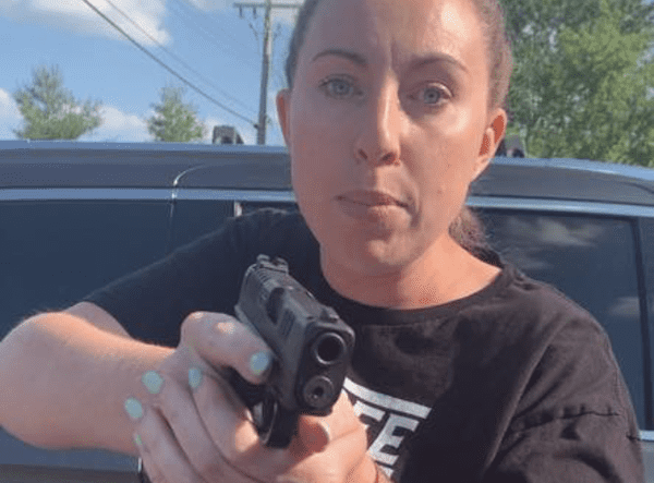 Woman Pulls a Gun on Mom and Daughter in Parking Lot Argument