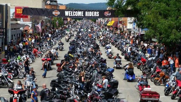 Thousands Gather At Sturgis Motorcycle Rally Despite Pandemic