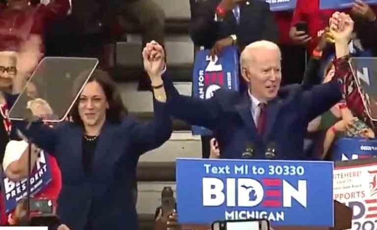 Joe Biden Names Senator Kamala Harris as his Running Mate