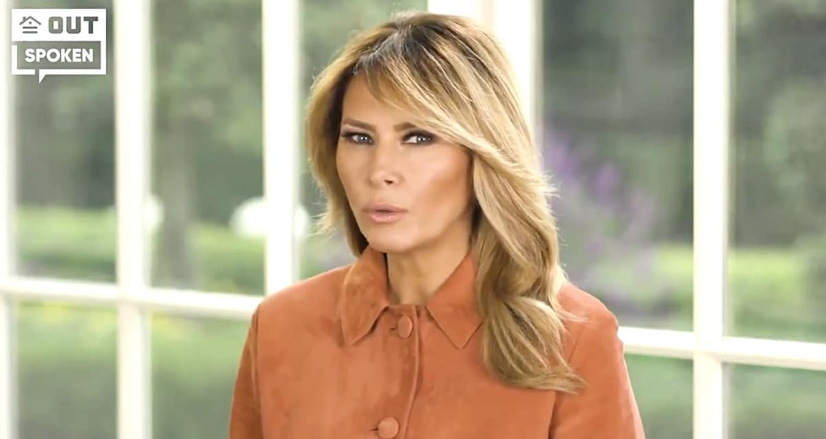 Melania Claims Donald Trump is Pro-Gay in Video for 'Log Cabin Republicans' — WATCH