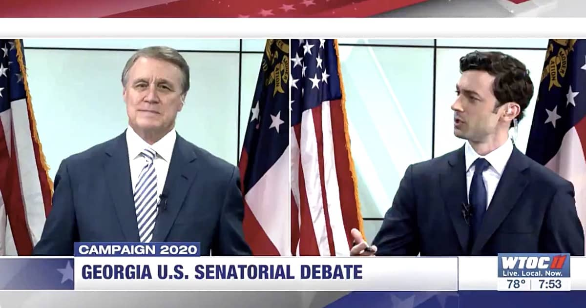 Ossoff slams Purdue in Senate debate: 'You're attacking the health of the people that you represent'