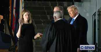 amy coney barrett swearing in
