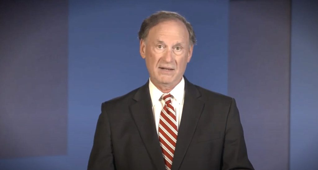 Covid restrictions 'previously unimaginable,' Justice Alito says