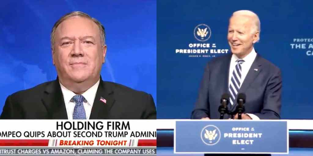 mike pompeo joe biden