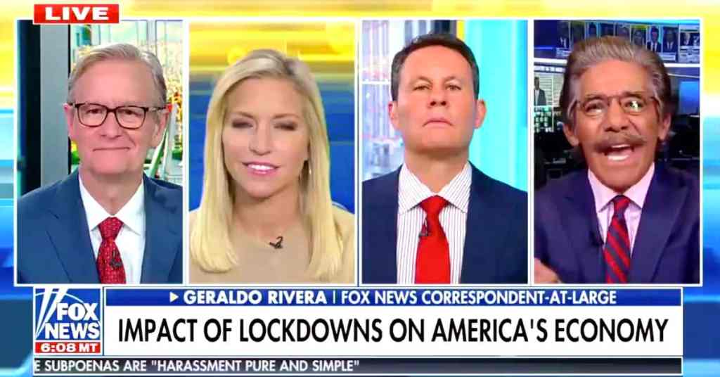 Geraldo Rivera Trump vaccine
