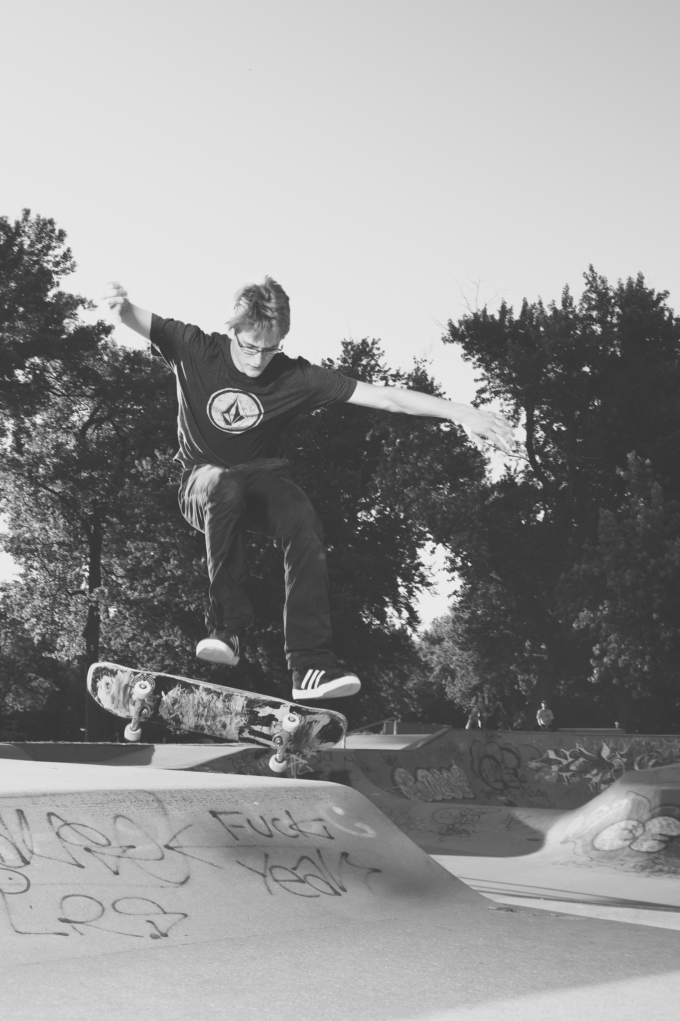 Senior Pictures Iowa City Skate Park Ivy Towler-174