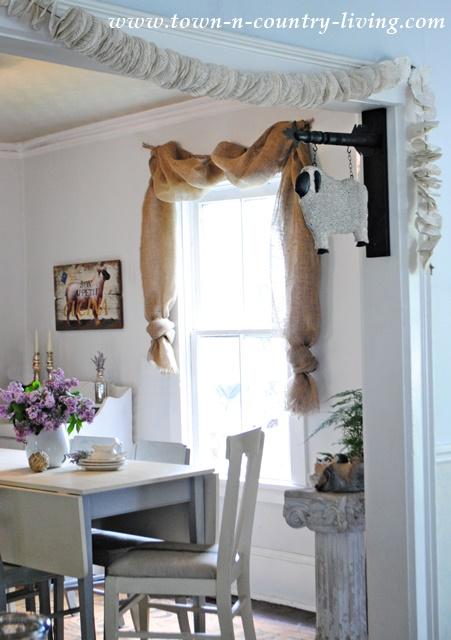 Farmhouse Curtains Easy Sew