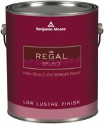 Regal Select Waterborne Exterior Paint