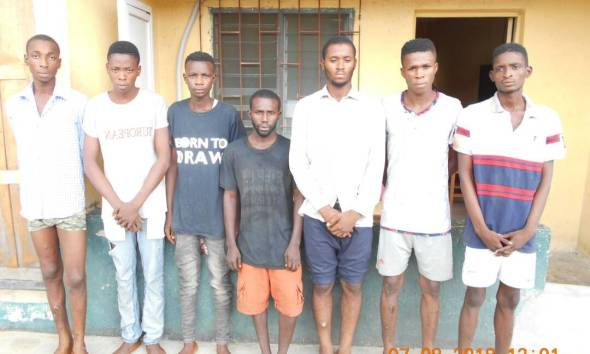 12 Armed Robbers Arrested