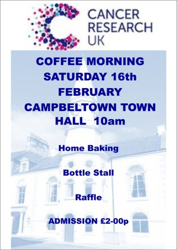 Cancer Research Coffee Morning