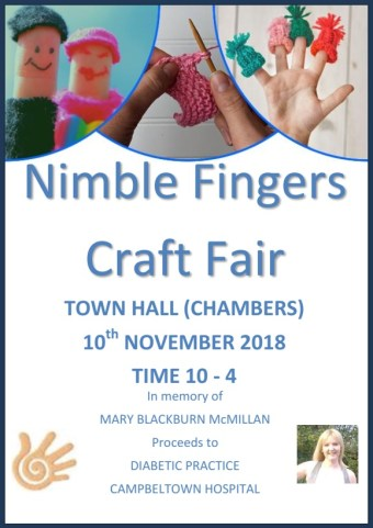 Nimble Fingers Event