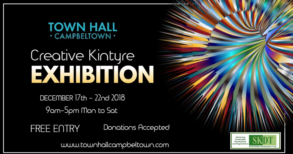 Creative Kintyre Art exhibition