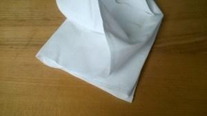 7 equal concertina folds