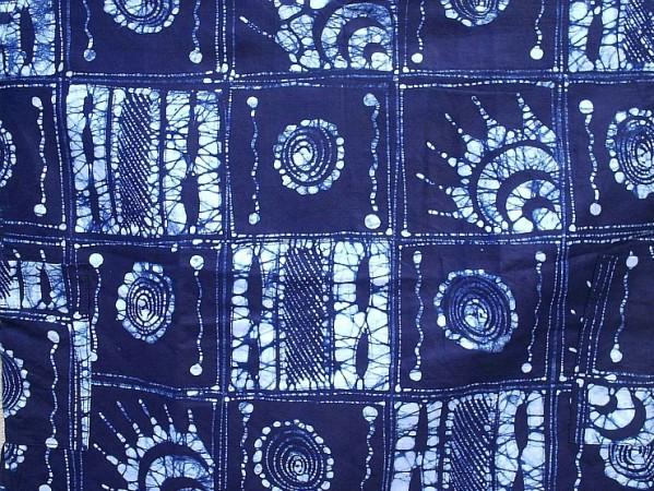 Batik paste resist cloth by Gasali Adeyemo (2)