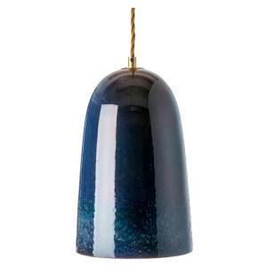 Conran Shop Peacock Lustre glaze pendant